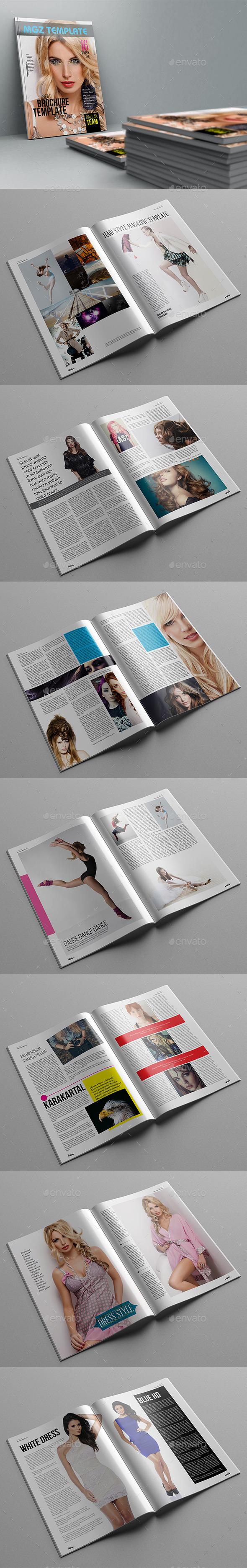GraphicRiver Mgz Magazine Template 11339783