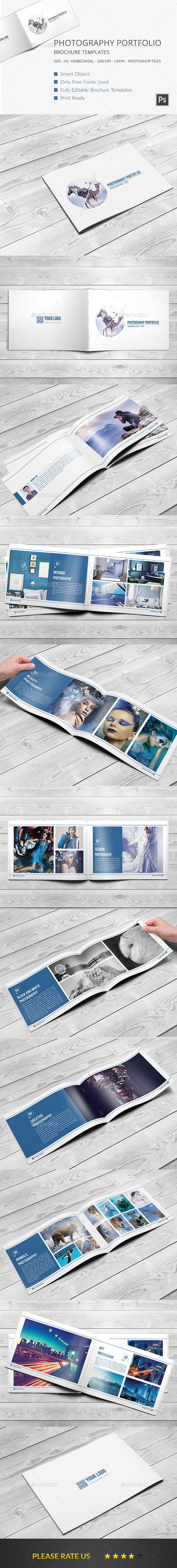GraphicRiver Photography Portfolio Brochure Template vol 1 11339967