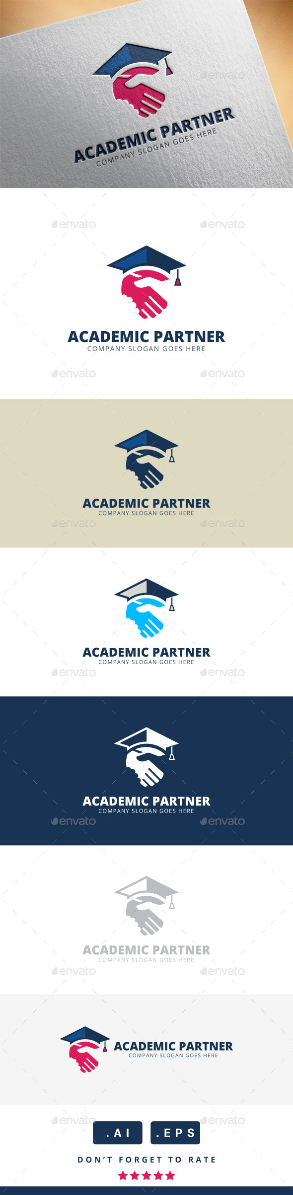 GraphicRiver Academic Partner Logo 11340032