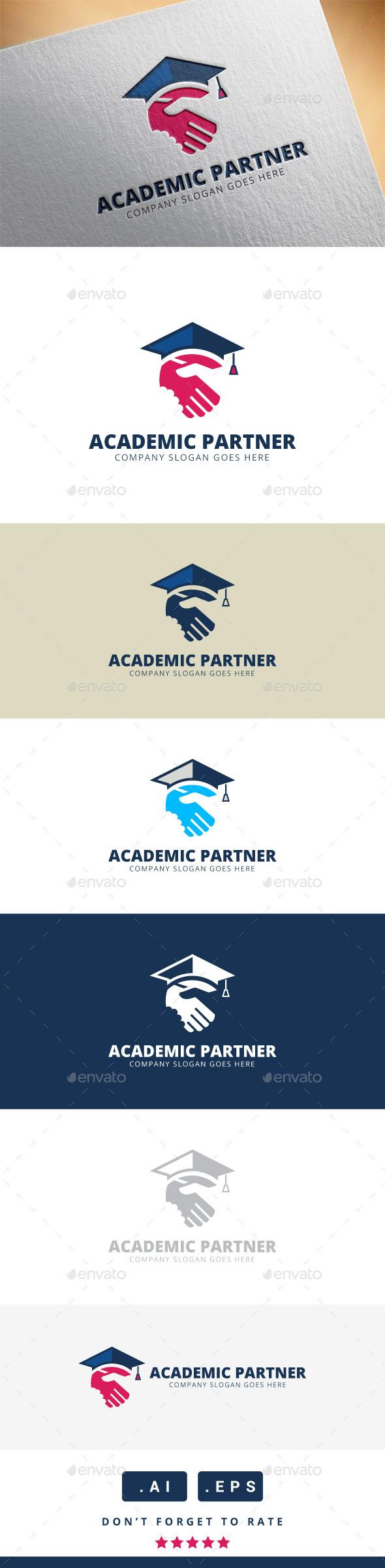 GraphicRiver Academic Partner Logo 11340032