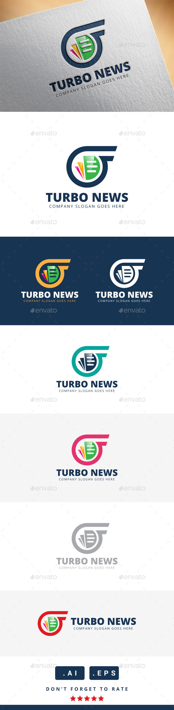 GraphicRiver Turbo News Logo 11340044