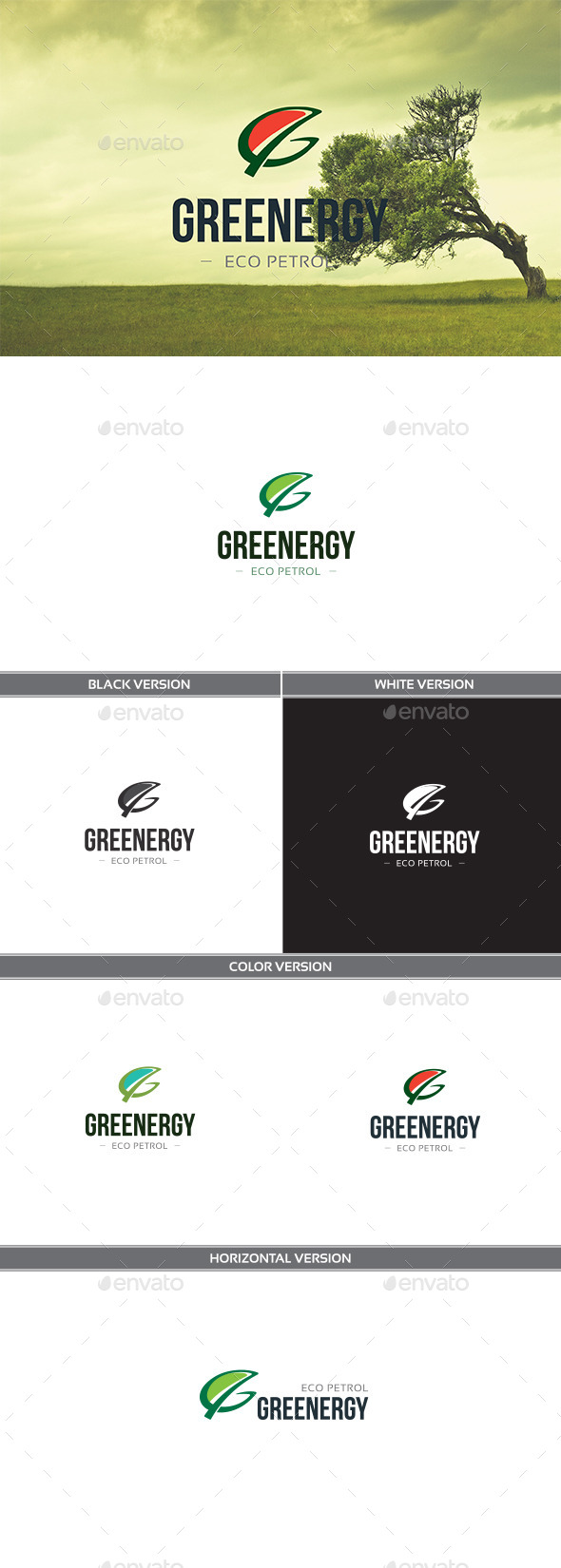 GraphicRiver Greenergy 11340611
