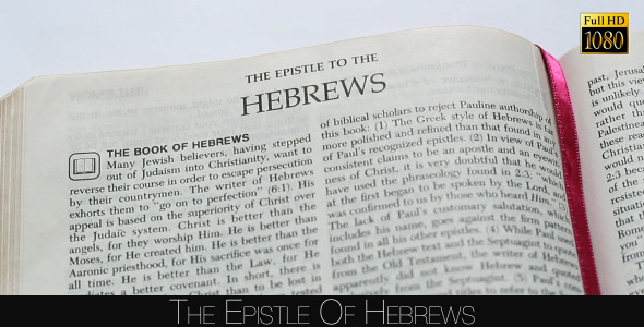 The Epistle Of Hebrews