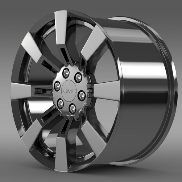 GMC Denali Hybrid rim - 3DOcean Item for Sale