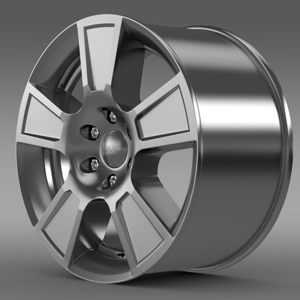 GMC Sierra Regular cab rim - 3DOcean Item for Sale