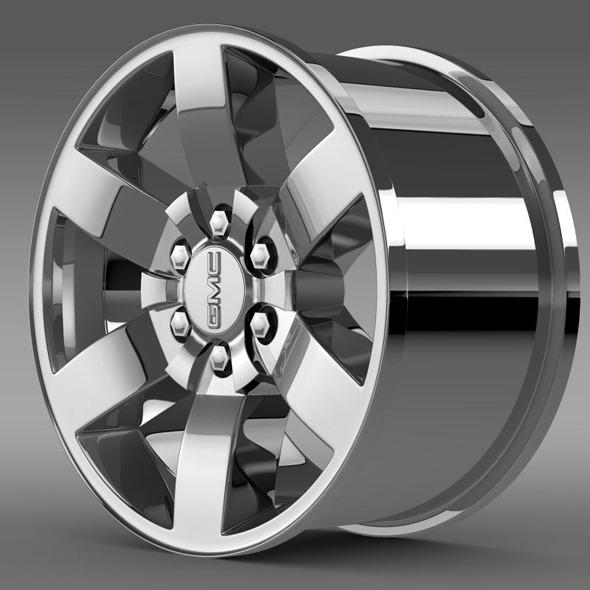 GMC Yukon Heritage Edition rim - 3DOcean Item for Sale