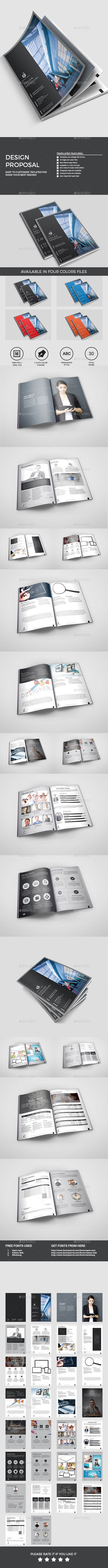 GraphicRiver Design Proposal 11341196