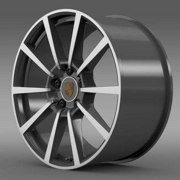 3DOcean Porsche 911 Carerra 4S rim 11341332