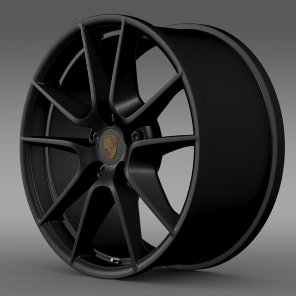 Porsche 911 Carerra Exclusive rim - 3DOcean Item for Sale