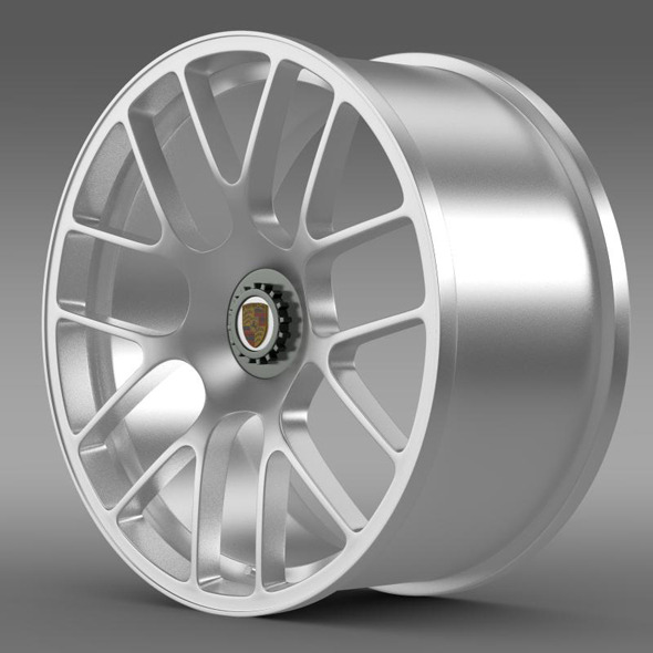 Porsche 911 Turbo rim - 3DOcean Item for Sale