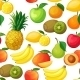 Seamless Pattern Fruit - GraphicRiver Item for Sale