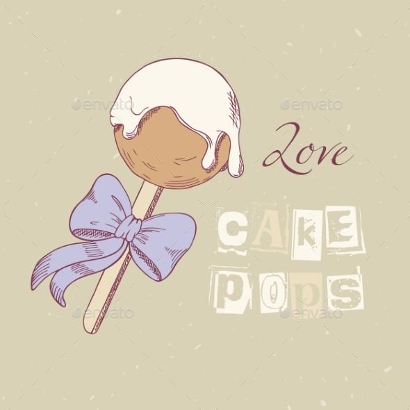 GraphicRiver Hand Drawn Cake Pop 11341651