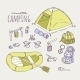 Hand Drawn Camping Items Collection - GraphicRiver Item for Sale