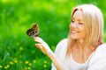 Woman and butterfly - PhotoDune Item for Sale