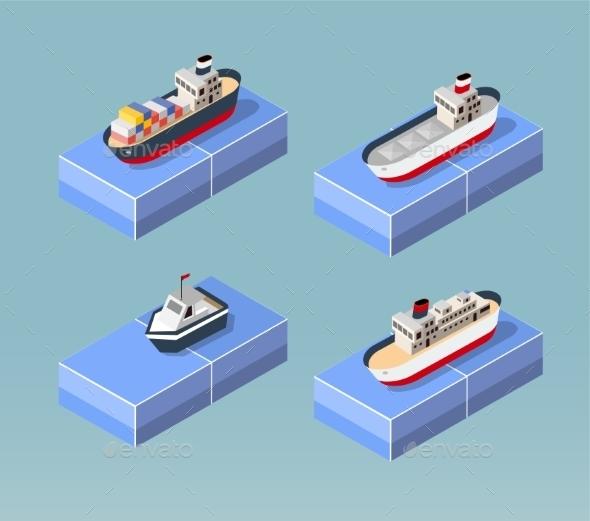 GraphicRiver Cargo Ships 11342071