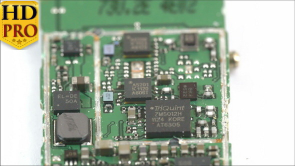 Closer Look of the Micro Chip