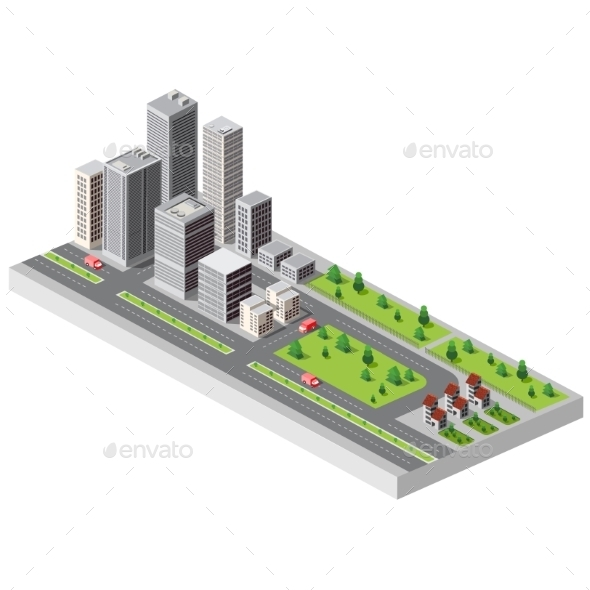 GraphicRiver City Center 11342095