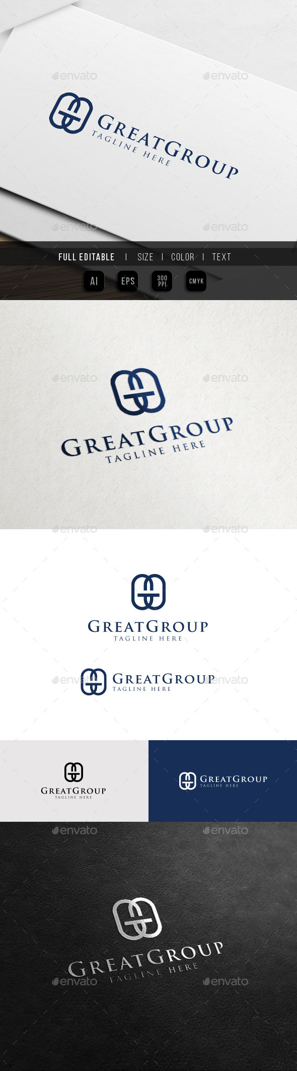 GraphicRiver Great Fashion Brand G GG Logo 11342106