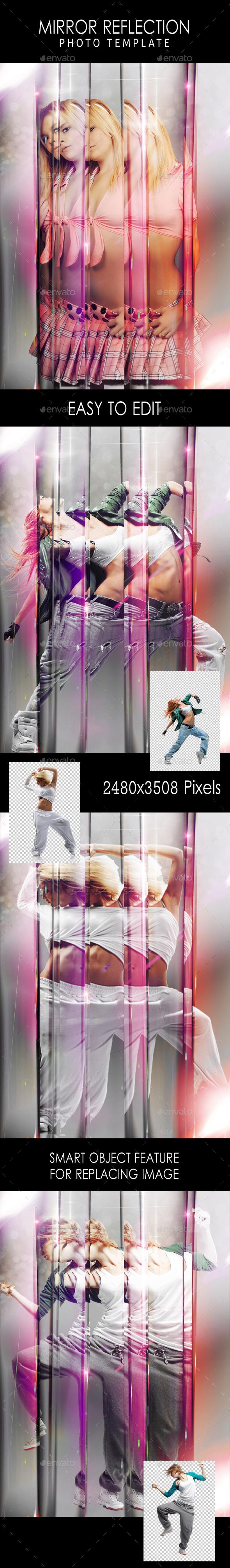 GraphicRiver Mirror Reflection Photo Template 11282377
