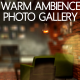 Warm Ambience Photo Gallery - VideoHive Item for Sale