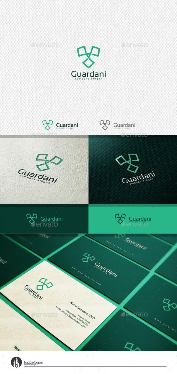 GraphicRiver Guardani Logo 11342217