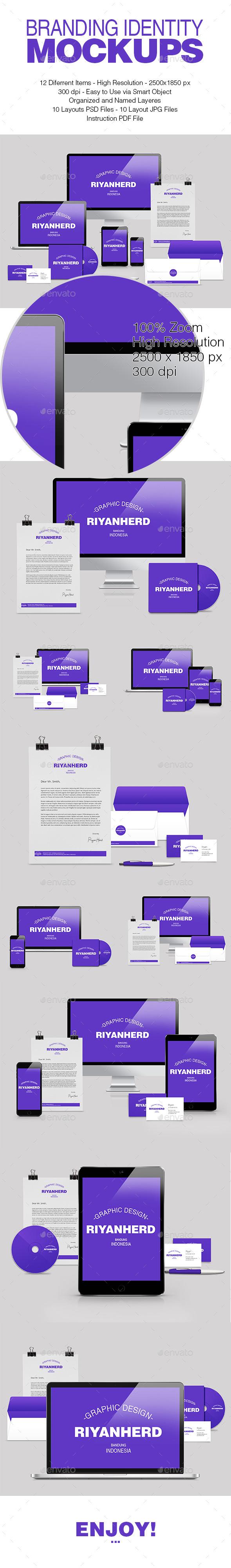 GraphicRiver Branding Identity Mockups 11342225