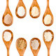 gluten free flour spoon collection - PhotoDune Item for Sale