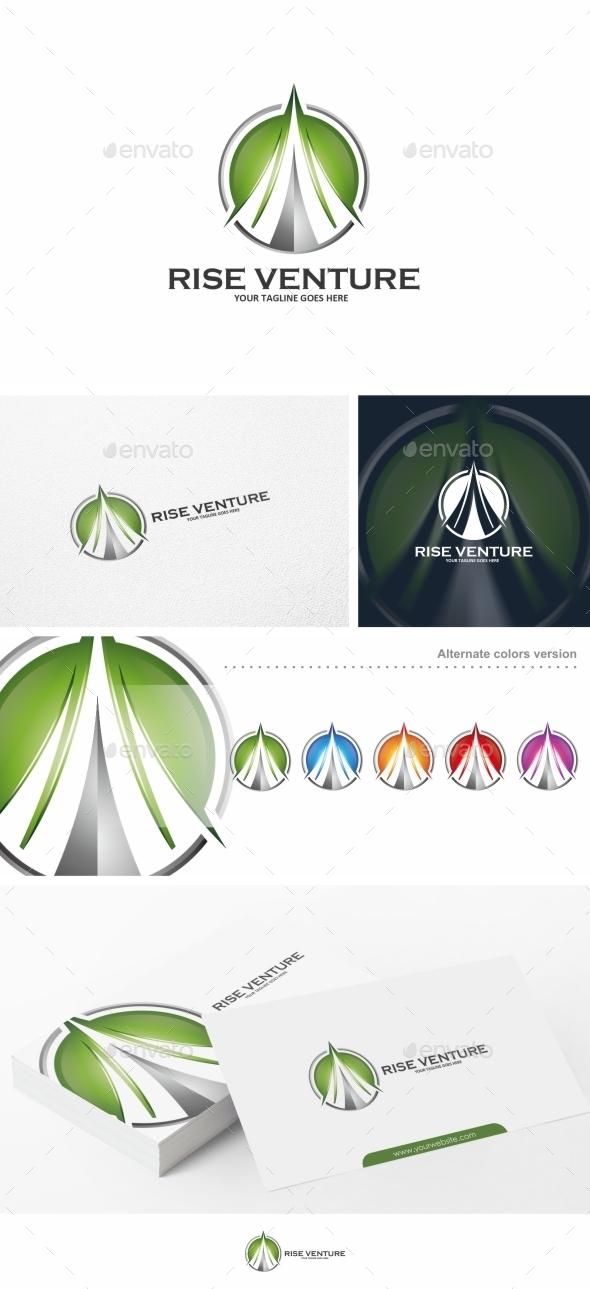 GraphicRiver Rise Venture Logo Template 11349034