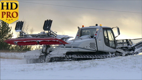 A Big Snow Flatter Transportation