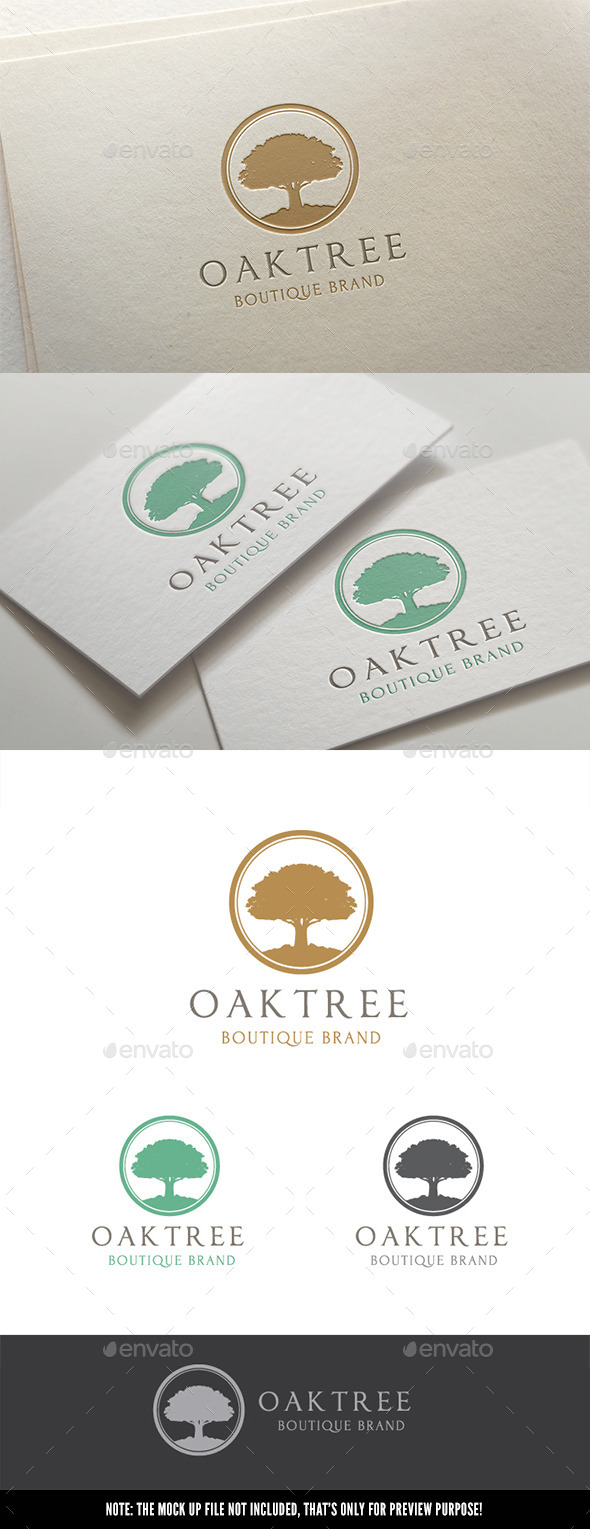GraphicRiver Oak Tree 11349282