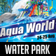 Water Park Flyer - GraphicRiver Item for Sale