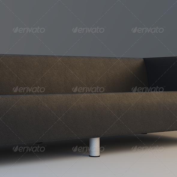 3DOcean Ikea sofa 140062