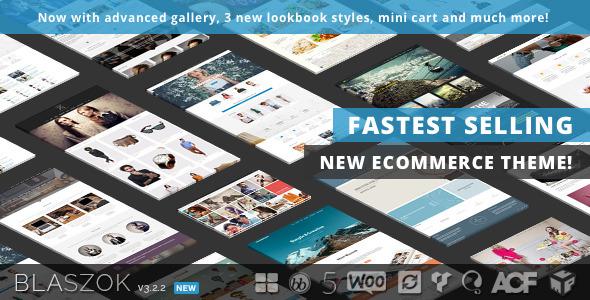 Blaszok - Multi-Purpose Responsive Theme - WooCommerce eCommerce