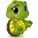 Little Turtle - GraphicRiver Item for Sale