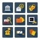 Icon Set for Finance and Banking - GraphicRiver Item for Sale