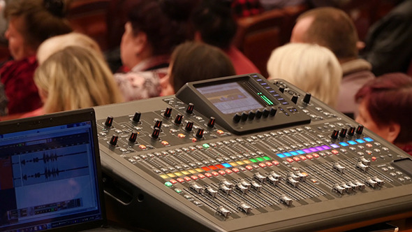Professional Digital Audio Mixer