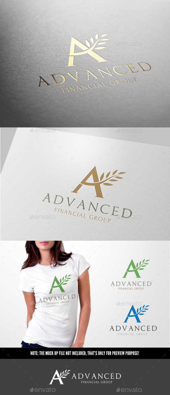GraphicRiver A letter Advance logo 11349901