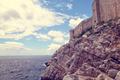 Beautiful seascape in Croatia