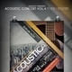 Acoustic Concert Flyer Vol.4 - GraphicRiver Item for Sale