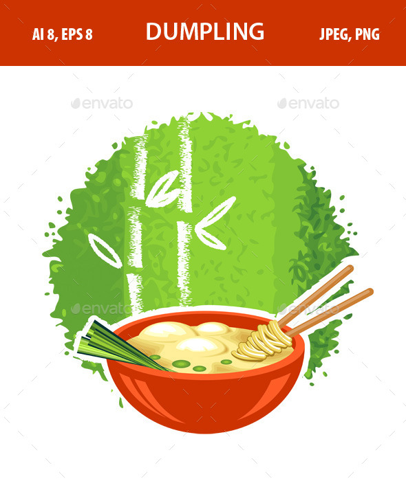 GraphicRiver Dumpling 11350566