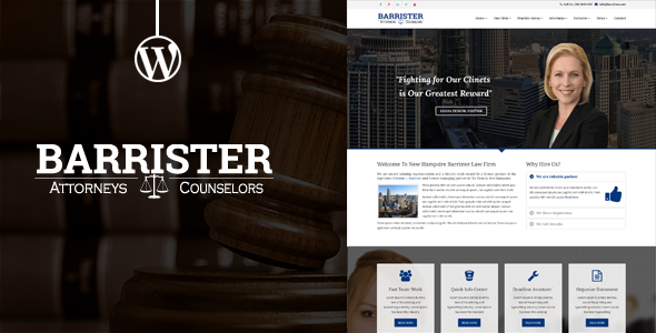 ThemeForest Barrister Responsive Law Business Wordpress Them 11275834