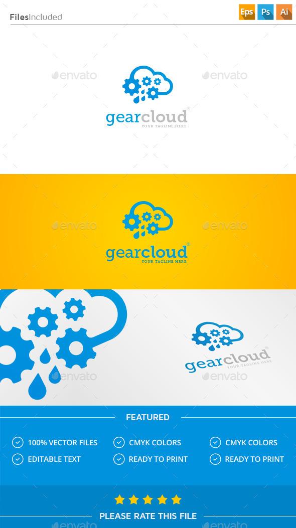 GraphicRiver Gear Cloud Logo 11350574