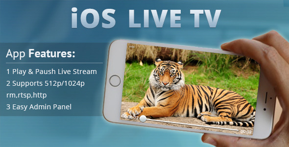 CodeCanyon iOS Live Tv 11309205