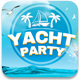 Yacht Party Facebook Cover - GraphicRiver Item for Sale