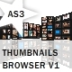 Thumbnails Browser V1 - AS3 - ActiveDen Item for Sale
