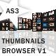 Thumbnails Browser V1 - AS3 - ActiveDen Item for Sale