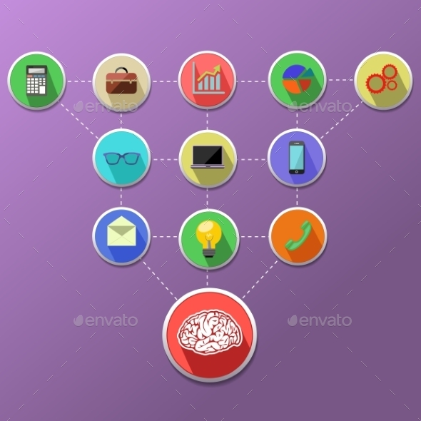 GraphicRiver Concept Of Business Process Management 11352096