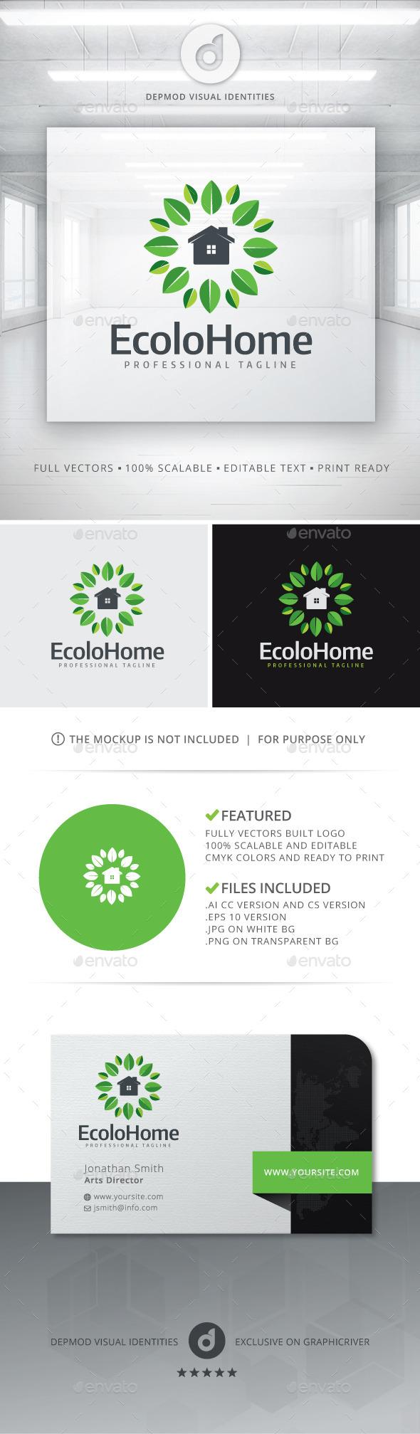GraphicRiver Ecolo Home Logo 11352325