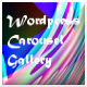 Wordpress carousel gallery