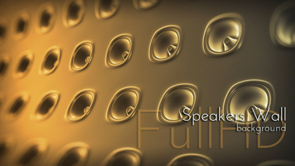 Speakers Wall Background